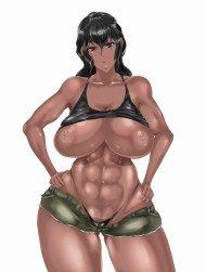 【エロ画像30枚】腹筋最高!筋肉質な女の子の画像貼っておきますねw【レベル1:褐色編3発目】
