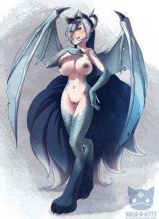 【エロ画像30枚】人外・メスケモ入門。ケモナーへの誘いシリーズ【ドラゴン娘その3】