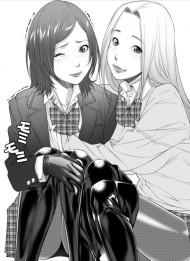 【全頭マスクエロ同人誌】どこにでもいる女子高生二人の、どこにでもある朝の日常・・・