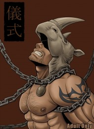 【ソウルキャリバーBL同人誌】ロックとアスタロス・・・禁断の儀式♂の末に何が起こるのか・・・・・・